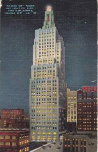 Missouri Kansas City Power And Light Company Building 14Th & Baltimore 1943