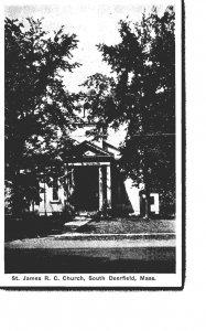 Massachusetts South Deerfield St James Roman Catholic Church