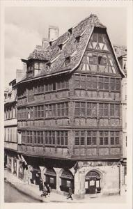 France Strasbourg La Maison Kammerzell