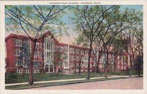 Jackson High School Jackson Michigan