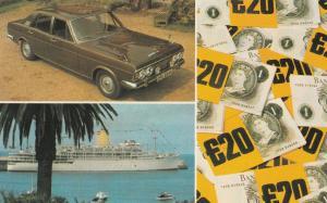 Readers Digest Raffle Advertising 1973 Postcard
