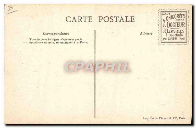 Old Postcard Shooting shotgun