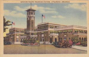 Arkansas Little Rock Missouri Pacific Railroad Station