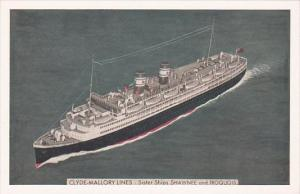 Clyde-Mallory Lines Sister Ships Shawnee and Iriquois