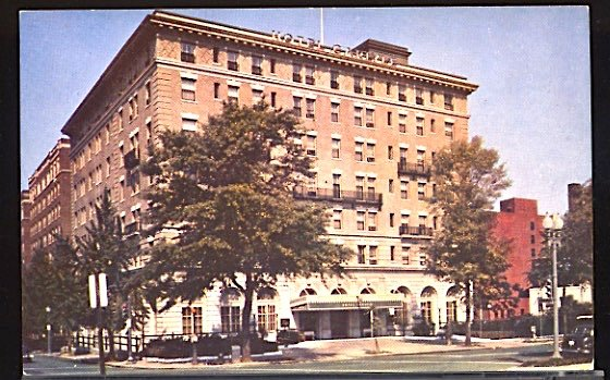 USA Postcard The Carlyle Hotel Washington DC