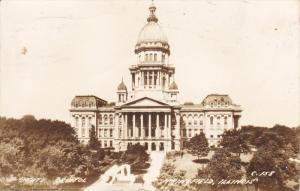 RP: State Capitol , SPRINGFIELD , Illinois , PU-1945
