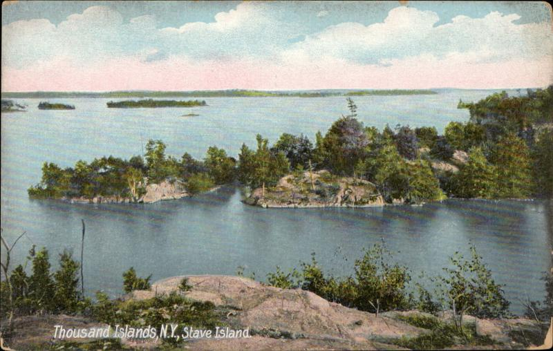 Thousand islands Stave island New York