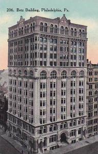 Exterior, Betz Building, Philadelphia, Pennsylvania,  00-10s