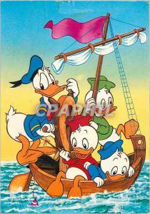 Postcard Modern Disney Donald Walt Disney