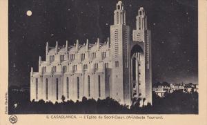 Casablanca , Morocco , 00-10s : L'Eglise du Sacre-Coeur