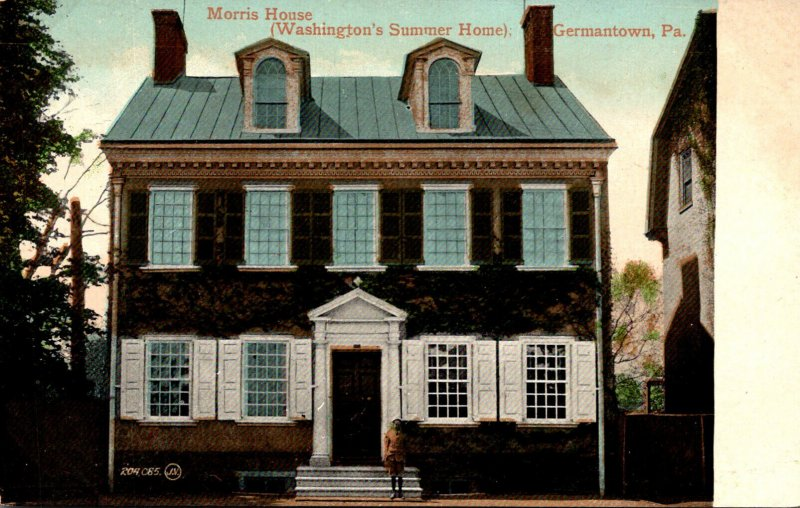 Pennsylvania Germantown Morris House Washington's Summer Home