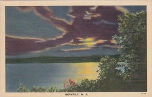 New Jersey Beverly Moonlight Scene