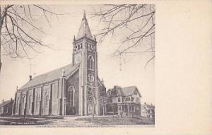 Ohio New Lexington Catholic Church Albertype