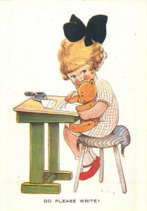 Do Please Write Mabel Lucie Attwell reprint 1985 by Patricia N. Schoonmaker