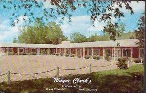 IA Sioux City Wayne Clarks Elmdale Motel