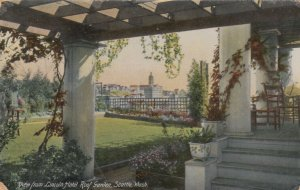 SEATTLE, Washington, 1900-10s; View from Lincoln Hotel Roof Garden