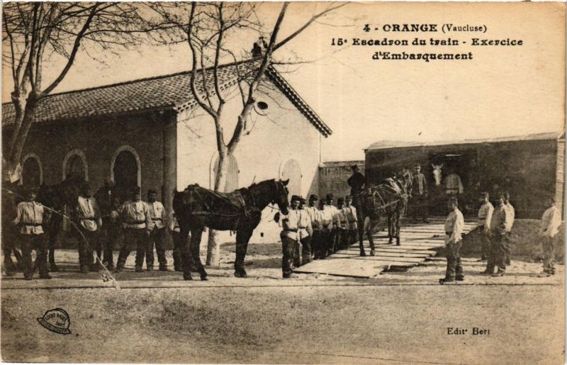 CPA Militaire, Orange - Escadron du train (277980)