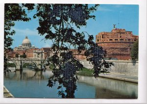 ROMA, Ponte e Castel S. Angelo, unused Postcard