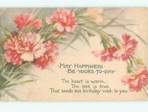 Divided-Back BEAUTIFUL FLOWERS SCENE Great Postcard AA3066