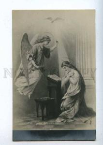 199131 Winged ANGEL Annunciation by GROSIO Vintage Russian PC
