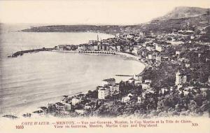 View On Garavan, Martin Cape & Dog's Shead, Menton (Alpes Maritimes), France ...