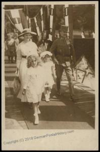 Austria WWI Hungary Kaiser Karl Franz Josef Successor Wife Zita Son Otto R 65696