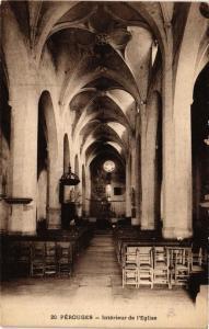 CPA Pérouges Intérieur de l'Eglise (684034)