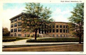 Virginia Petersburg High School Curteich
