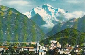 Switzerland Interlaken Mit Jungfrau