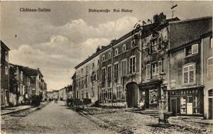 CPA Chateau SALINS - Rue Blahay (368869)