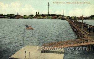 Railroad Dock - Provincetown, Massachusetts MA