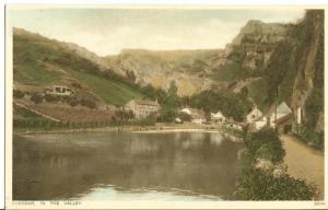 Cheddar, in the Valley, early 1900s unused Postcard