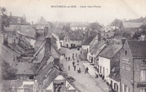 MONTREUIL SUR MER, Pas De Calais, France, 1900-1910ss; La Cavee Saint-Firmin