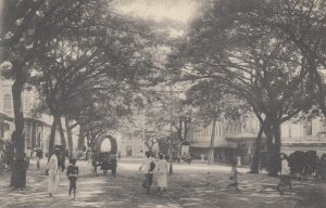 COLOMBO , Ceylon , 00-10s ; York Street toward the jetty
