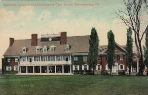 Manheim Grounds and Gentleman's Club House, GERMANTOWN, Pennsylvania, PU-1915