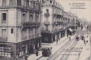 St Nazaire , France , 1900-10s ; La Rue Ville-es-Martin