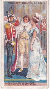 Cigarette Card Wills The Coronation Series (1911) No 29 Queen Caroline