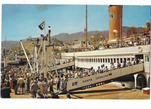 Steamer in Avalon Santa Catalina Island California 1957