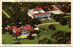 California San Marino The Henry E Huntington Library & Art Gallery 1937
