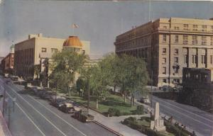 City Hall, County Court House, Federal Court House, EL PASO, Texas, 40-60's