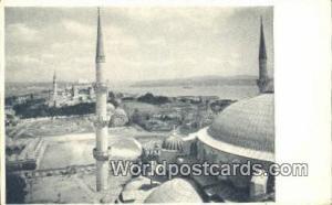 View of Minaret Istanbul, Turkey Postcard Post Card, Kart Postal, Carte Posta...