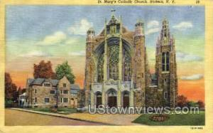 St. Mary's Catholic Church Hudson NY Unused