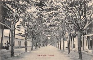 German East Africa Tanzania Dar-Es-Salaam, Unter den Akazien