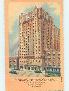 Linen HOTEL SCENE New Orleans Louisiana LA AE1511