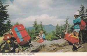 NEW HAMPSHIRE, 1950-1960's; Hiking-White Mountains