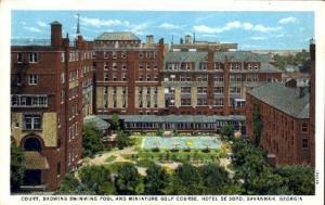 Hotel De Soto Savannah GA Unused