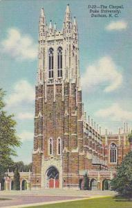 North Carolina Durham The Chaple Dure University Albertype