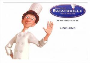 Disney Movie RATATOUILLE,  Advertisment postcard 2007 : LINGUINE