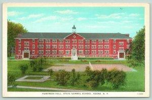 Keene New Hampshire~State Normal School~Huntress Hall~Tennis Court~1920s