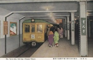 GREATER TOKYO , Japan , 30-50s ; Up-to-date Subway